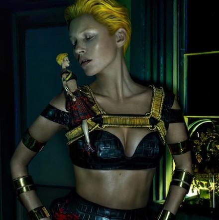 Kate Moss for Alexander McQueen