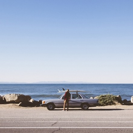 Jack Spade S/S 2014 Campaign with Surfer Mikey De Temple