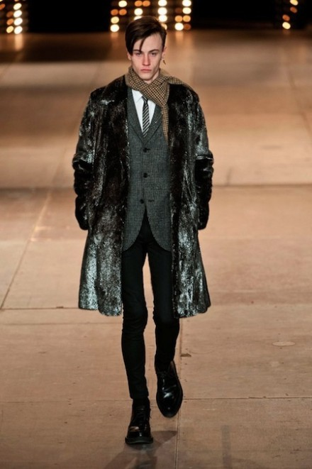 Paris Fashion Week: Men FW14 – Saint Laurent