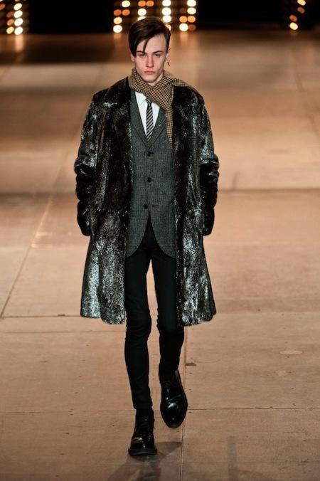 Paris Fashion Week: Men FW14 – Saint Laurent