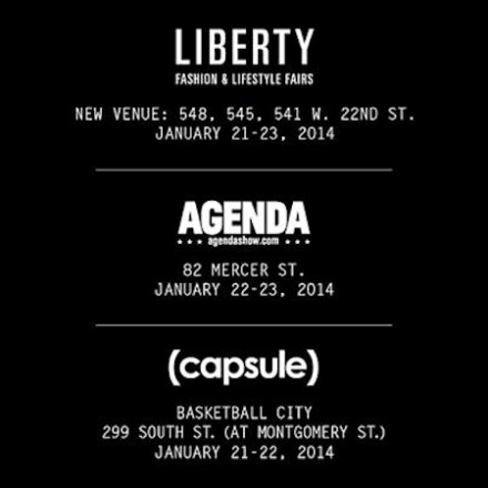{capsule}, Liberty, and Agenda