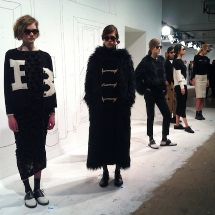 NY Fashion Week FW14 – Band of Outsiders_Women