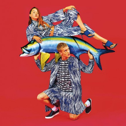 KENZO SS14 Campaign by TOILETPAPER