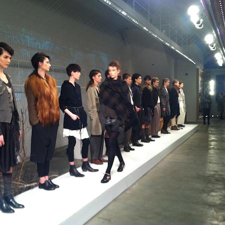 NY Fashion Week FW14 – pas de calais