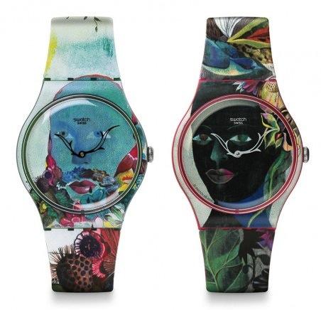 Swatch x Olaf Hajek
