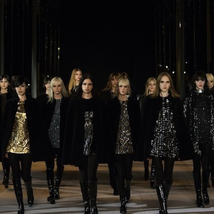 Paris Fashion Week FW14 – Saint Laurent