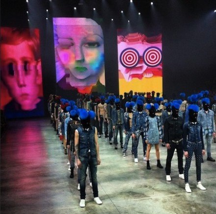 NICOLA FORMICHETTI'S DIESEL VENICE SHOW WITH NICK KNIGHT FILMS!