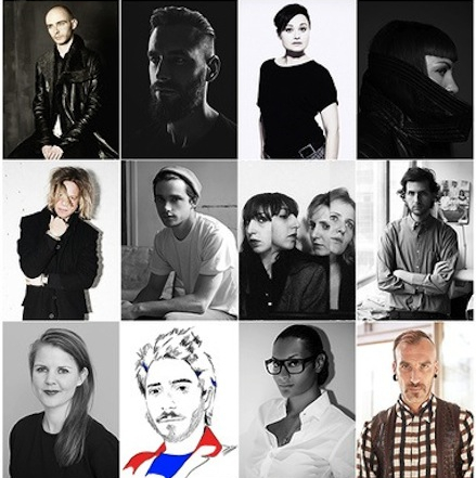 Nominees for Woolmark Prize 2014/2015