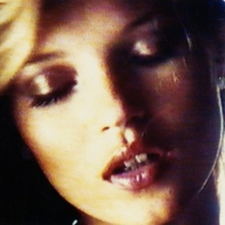 Kate Moss filmed by Nick Knight