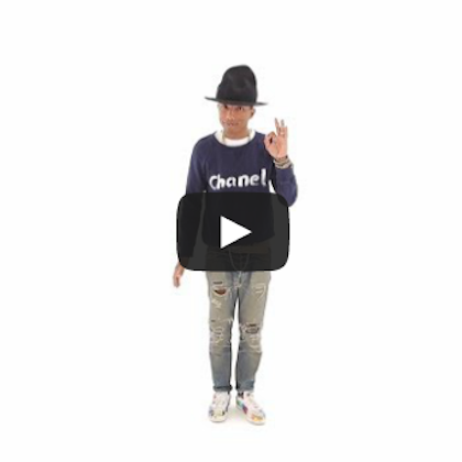 "Pharrell Williams ""Happy"" Japanese Version"