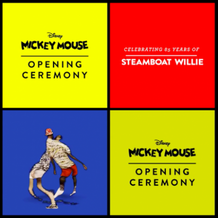 Mickey Mouse x Opening Ceremony