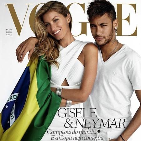 Neymar & Gisele –  Vogue Brazil