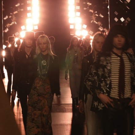 Paris Fashion Week: Men SS15 – Saint Laurent