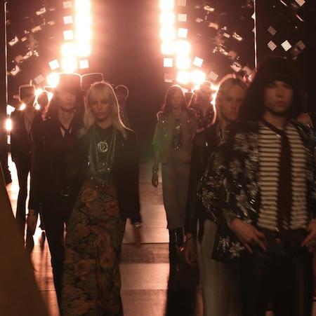 Paris Fashion Week: Men SS15 – Saint Laurent