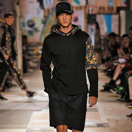 Paris Fashion Week: Men SS15 – Y-3