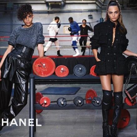 Chanel FW14 Campaign