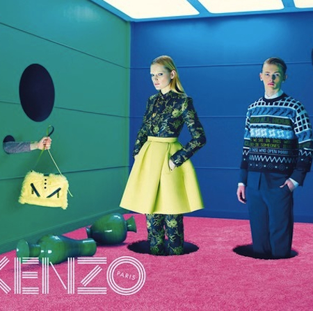 Kenzo's David Lynch-Inspired FW14 campaign