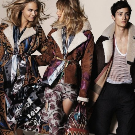 Burberry FW 14 Campaign