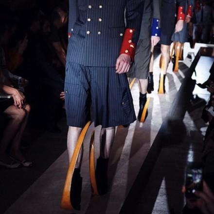 Paris Fashion Week: Men SS15 – Comme des Garçons Homme Plus