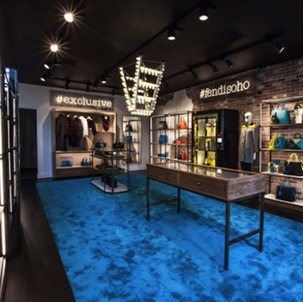 Fendi pop-up Opens in SoHo