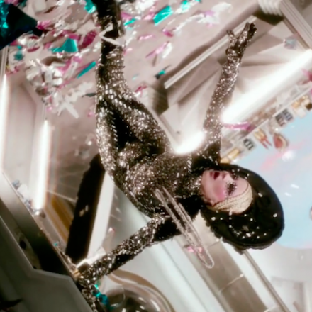 "Daphne Guinness ""Evening in Space"""