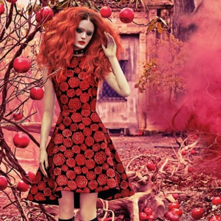 Alice & Olivia FW14 ad