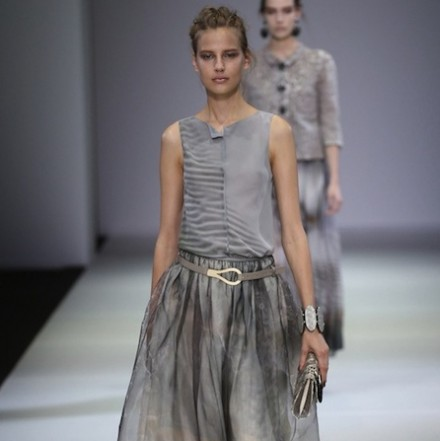 Milan Fashion Week SS15 – Giorgio Armani