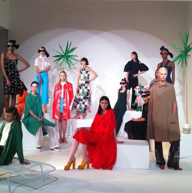 NY Fashion Week SS15 – Isa Arfen