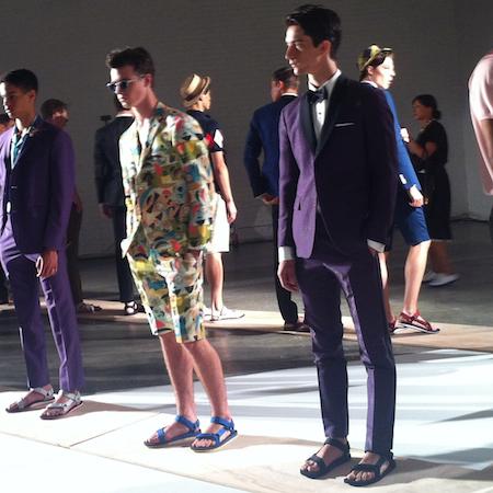 NY Fashion Week SS15 – David Hart