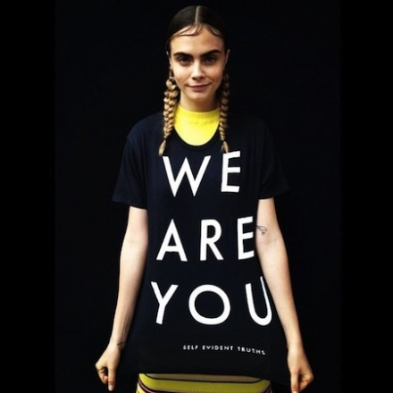 Cara Delevingne supports National Coming Out Day