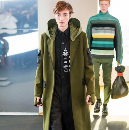 Paris Fashion Week: Men FW15 – Kenzo