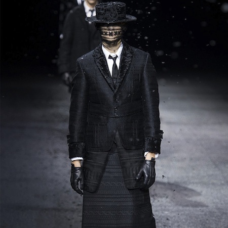 Paris Fashion Week: Men FW15 – Thom Browne