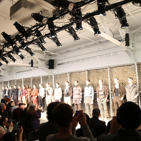 NY FASHION WEEK FW15 –  ROBERT GELLER