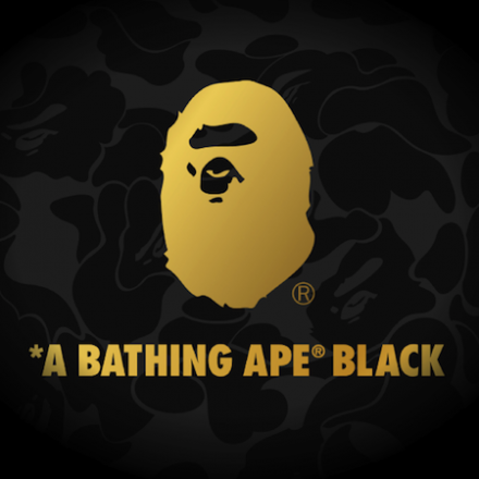 A BATHING APE® BLACK launches