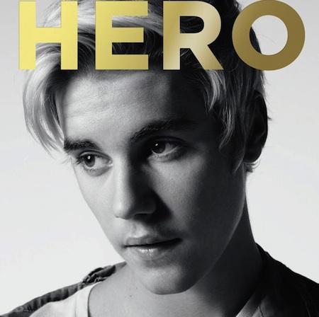 Justin Bieber by Hedi Slimane for HERO Magazine