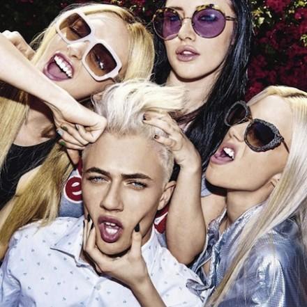 Lucky Blue & Sisters – Vanity Fair Italia