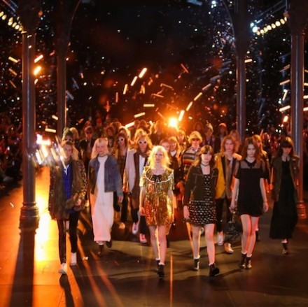 Paris Fashion Week: Men SS16 – Saint Laurent