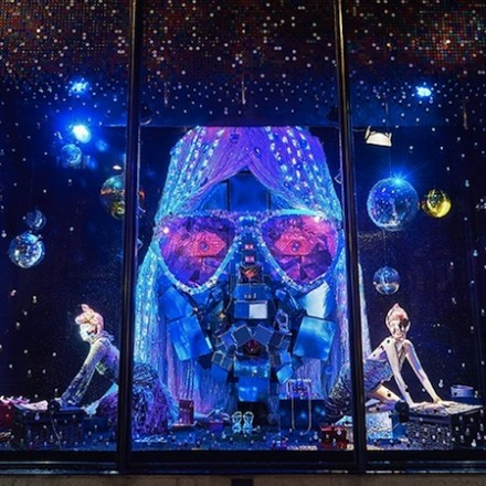 Harvey Nichols Christmas Windows
