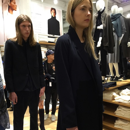 #UNIQLOANDLEMAIRE RELEASE PARTY