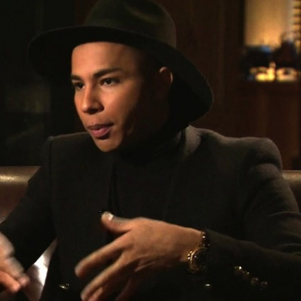 Olivier Rousteing exclusive talk to BBC Newsnight