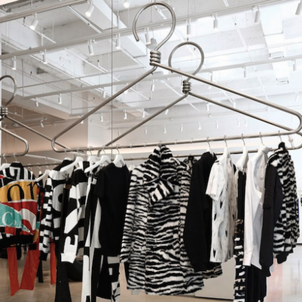 jeremy scott's new nyc moschino store