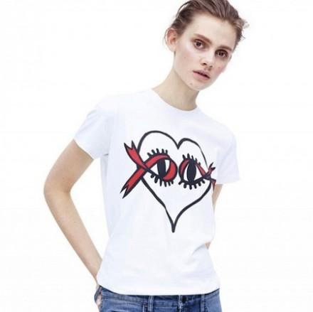 World AIDS Day T-shirt – VICTORIA BECKHAM