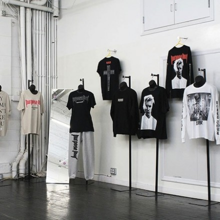 Justin Bieber Pop-Up at VFILES, NY