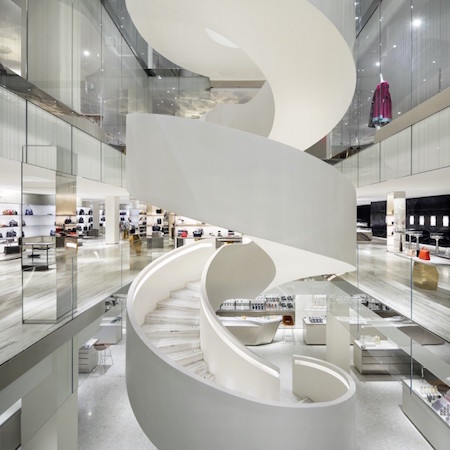 The Making Of Barneys' Downtown Flagship