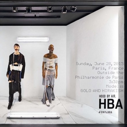 Hood By Air for Barneys Window