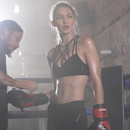 Gigi Hadid's Sneak Peek for Reebok