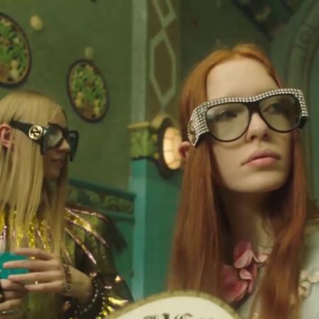 Petra Collins' new film for Gucci
