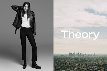 The Theory spring 2017 campaign featuring