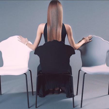 Versace 'Shadov' Chair