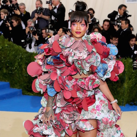 Rihanna at Met Gala 2017